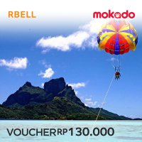 (rbelltour) Watersport Bali : Parasailling, Waktu one round - Minimum 2 pax