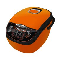 Yong Ma Rice Cooker MC Black Tinum 3700 - Orange