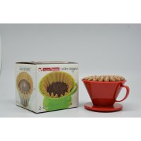 e coffee - CafeDeTiamo Coffee Dripper HG-5406 K02 Red