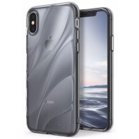 Rearth iPhone X Case Ringke Flow Thin TPU