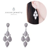 Cocoa Jewelry Love Rain Earring / Anting Love Rain (Luxurious Collection 11-DBE-01.1)