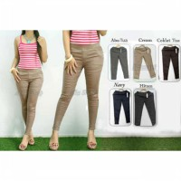 Celana Legging Polos, Celana Katun Stretch, Leging cotton