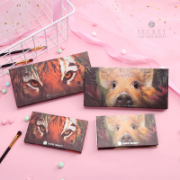 (POP UP AIA) Damo Beauty Eyeshadow 8 Palette Animal Shimmer Matt