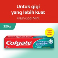 Colgate Maximum Cavity Protection Fresh Cool Mint Toothpaste/Pasta Gigi 220gr