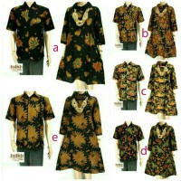 Couple Sarimbit Batik Tunik Dress