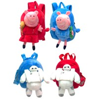 Import Bag Tas Ransel Anak My little Pony, Baymax Big Hero dan Peppa Pig