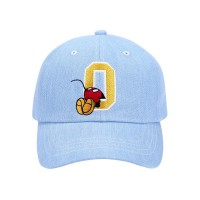 5252 바이 오아이오아이(5252BYOIOI) BALL CAP / BEHIND MICKEY MOUSE_light blue