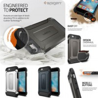 Spigen Iron Robot Transformer Armor Tech Case Casing Hardcase For Vivo Y55