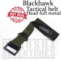 BLACKHAWK TACTICAL BELT NYLON CQB HEAD FULL METAL