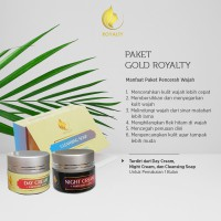 Paket Gold Royalty Cosmetic