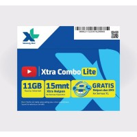 Kartu Perdana Internet XL 11GB