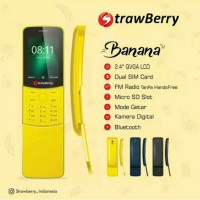 Hp unik Strawberry model BANANA