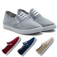 4Pilihan Dr.Kevin Ladies Slip-On Shoes 5309: Grey,Red,Cream,Green