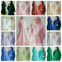 ANGGUN SYARI BUSUI KS BAHAN JERSEY SUPER PLUS BERGO FIT TO XL