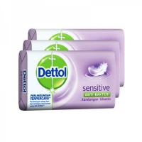 Dettol Bar Soap Sensitive Skin SP 3 x 105gr