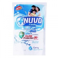 Nuvo Liquid Soap Pouch Biru 250ml