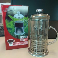FRENCH PRESS COFFEE PLUNGER 600ML /COFFEE & TEA MAKER