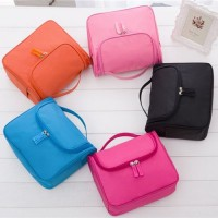 Korean Solid Color Toiletry Bag / Cosmetic Bag