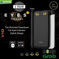 Hippo Powerbank Eyes 7000 Mah - Hitam