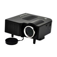 Mediatech Mini LED Projector LCD Image System - Hitam (65909 Hitam)