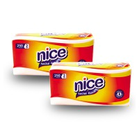 [1+1] Tissue Nice Softpack 250 Sheet