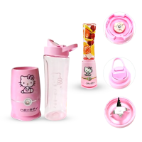 shake n take hello kitty 2 cup botol go sporty blender juicer kity hk