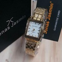 New Edition Jam Tangan Wanita Jonas Jasmin Gold Original