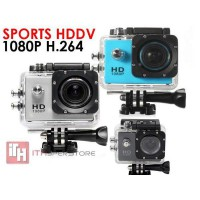 Sports Hd Dv 1080p H.264 Full Hd 2.0'Lcd Screen (30m Water Resistant )