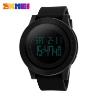 Skmei Trendy Men Led Display Watch Water Resist. Dg1142 - Jam Tangan Pria Cowok