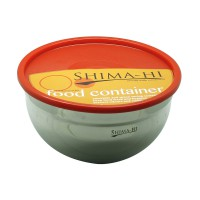 Shima-Hi Mixing Bowl with Lid - Red [24 cm]