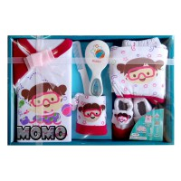 Kiddy Baby Set Petani New 11160 Paket Baju Bayi - 3 Warna Nb+
