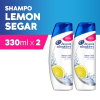 [1+1] Head & Shoulders Sampo Lemon Fresh 330 ml - Paket isi 2