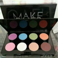 MAKE OVER SHINY GLAM EYE SHADOW PALLETE