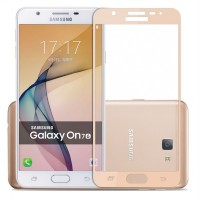 Candy Tempered Glass Samsung Galaxy J7 Prime / ON7 Full Cover (Gold)