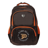 Prosport Backpack 2857-21 Coffee-Orange