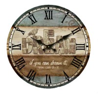 Monkizz Vivian Wooden Wall Clock (Dream Series)