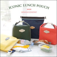 Tas bekal tahan panas dan dingiin ✲ Iconic Insulted Lunch Pouch