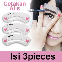 Mini Brow Class  / Cetakan Alis / Magic Painted Lips Card / Cetakan Bibir