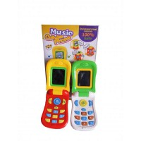 MUSIC CELLULAR PHONE FOR BABY and KIDS - Ready 2 opton - Mainan Edukatif Anak Telepon Interaktif