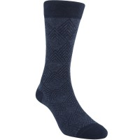 Kaos Kaki Marel Socks Life Style Men Floral Plain MC1P-16-MS028 Dark Grey/Black