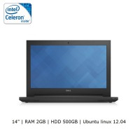 Dell Inspiron 14 (3442) Intel Celeron/2GB/500GB - linux 12 - Black and Red
