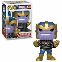 Funko Pop Marvel! : Holiday - Thanos