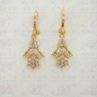 Xuping Anting 01 Gold 18k