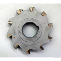 [globalbuy] Free delivery 1PCS 125*8 alloy with three edge milling cutter, Alloy milling c/1231333