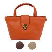 [Baglis] Tas Tangan / Fiona Beauty Pouch / Synthetic Leather