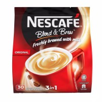 Nescafe Blend & Brew 3in1 Original Premix coffee kopi pracampur