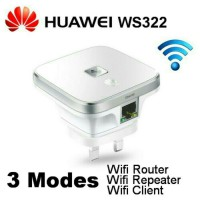Wifi Extenter Huawei WS-322 300mbps Media Router Repeater Client 3 in 1 Wireless WS322