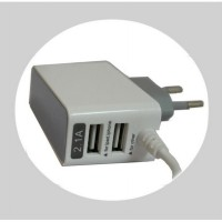 Usb Charger / for android/ 2 port / 2.1A / good produck / 3 in 1 ( 2 usb, 1 kabel )