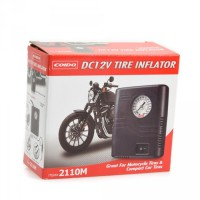 Coido Motorcycle Tire Inflator 12V- Pompa Ban Motor 2110