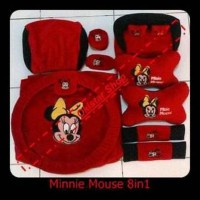 Bantal Mobil Minnie Mouse 8in1